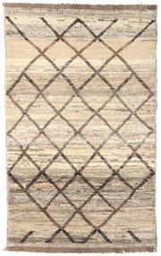 Moroccan Berber - Afghanistan Matta 118X191 Äkta Modern Handknuten Beige/Ljusgrå (Ull, Afghanistan)