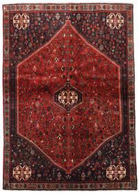 Abadeh Matta 124X176 Äkta Orientalisk Handknuten Mörkröd/Mörkbrun (Ull, Persien/Iran)
