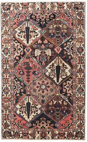 Bakhtiar Patina Matta 150X247 Äkta Orientalisk Handknuten Mörkbrun/Mörkröd (Ull, Persien/Iran)