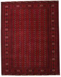 Turkaman Patina Matta 305X390 Äkta Orientalisk Handknuten Mörkröd/Mörkbrun Stor (Ull, Persien/Iran)