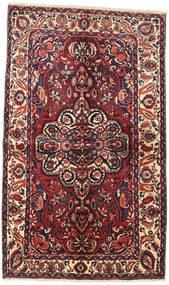 Bakhtiar Matta 145X240 Äkta Orientalisk Handknuten Mörkröd/Mörkblå (Ull, Persien/Iran)