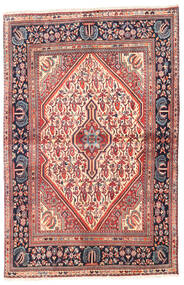 Jozan Matta 107X160 Äkta Orientalisk Handknuten Brun/Beige (Ull, Persien/Iran)