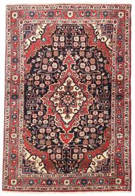 Jozan Matta 110X160 Äkta Orientalisk Handknuten Beige/Svart (Ull, Persien/Iran)