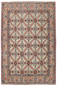 Keshan Patina Matta 135X200 Äkta Orientalisk Handknuten Mörkgrå/Beige (Ull, Persien/Iran)