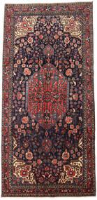 Jozan Matta 165X343 Äkta Orientalisk Handknuten Mörkgrå/Mörkbrun (Ull, Persien/Iran)