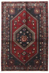 Klardasht Matta 130X195 Äkta Orientalisk Handknuten Mörkröd/Svart (Ull, Persien/Iran)