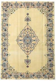 Keshan Patina Matta 165X238 Äkta Orientalisk Handknuten Mörkbeige/Beige (Ull, Persien/Iran)