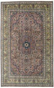 Kashmar Patina Matta 195X310 Äkta Orientalisk Handknuten Mörkgrå/Ljusbrun (Ull, Persien/Iran)