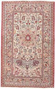 Keshan Patina Matta 127X207 Äkta Orientalisk Handknuten Ljusgrå/Beige (Ull, Persien/Iran)