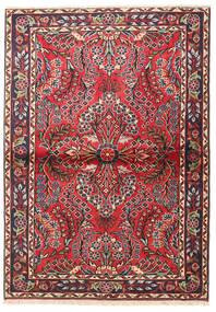 Lillian Matta 102X144 Äkta Orientalisk Handknuten Mörkbrun/Roströd (Ull, Persien/Iran)