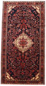 Jozan Matta 170X325 Äkta Orientalisk Handknuten Mörkröd/Mörkbrun (Ull, Persien/Iran)