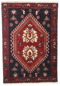 Klardasht Matta 70X100 Äkta Orientalisk Handknuten Mörkröd/Mörkgrå (Ull, Persien/Iran)
