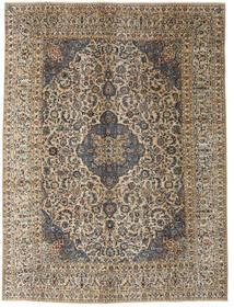 Kashmar Patina Matta 290X390 Äkta Orientalisk Handknuten Mörkgrå/Ljusbrun Stor (Ull, Persien/Iran)