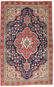 Tabriz Patina Matta 90X140 Äkta Orientalisk Handknuten Mörkgrå/Roströd (Ull, Persien/Iran)