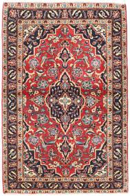 Keshan Patina Matta 98X150 Äkta Orientalisk Handknuten Mörkgrå/Mörkröd (Ull, Persien/Iran)