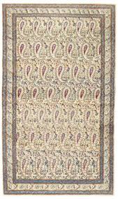 Kerman Patina Matta 85X147 Äkta Orientalisk Handknuten Beige/Ljusgrå (Ull, Persien/Iran)