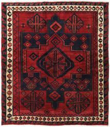 Lori Matta 174X200 Äkta Orientalisk Handknuten Mörkröd/Svart (Ull, Persien/Iran)