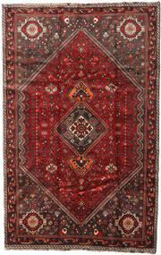 Shiraz Matta 174X269 Äkta Orientalisk Handknuten Mörkröd/Mörkbrun (Ull, Persien/Iran)