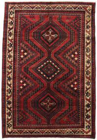 Lori Matta 180X265 Äkta Orientalisk Handknuten Mörkröd/Svart (Ull, Persien/Iran)