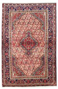 Sarough Matta 111X165 Äkta Orientalisk Handknuten Mörkröd/Roströd (Ull, Persien/Iran)