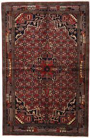 Koliai Matta 155X235 Äkta Orientalisk Handknuten Mörkbrun/Mörkröd (Ull, Persien/Iran)