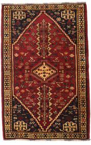 Ghashghai Matta 108X169 Äkta Orientalisk Handknuten Mörkbrun/Mörkröd (Ull, Persien/Iran)
