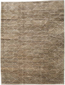 Loribaft Persisk Matta 260X340 Äkta Modern Handknuten Ljusgrå/Ljusbrun Stor (Ull, Persien/Iran)