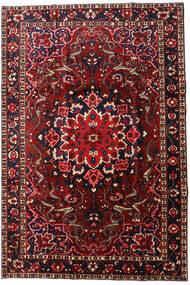 Bakhtiar Matta 208X310 Äkta Orientalisk Handknuten Mörkröd/Mörkbrun (Ull, Persien/Iran)
