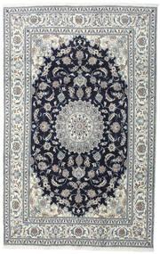 Nain Matta 200X308 Äkta Orientalisk Handknuten Mörkgrå/Ljusgrå (Ull, Persien/Iran)