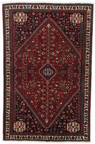 Abadeh Matta 100X156 Äkta Orientalisk Handknuten Mörkbrun/Mörkröd (Ull, Persien/Iran)