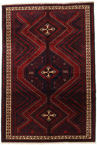 Lori Matta 182X270 Äkta Orientalisk Handknuten Mörkröd (Ull, Persien/Iran)