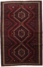 Lori Matta 178X270 Äkta Orientalisk Handknuten Mörkröd (Ull, Persien/Iran)