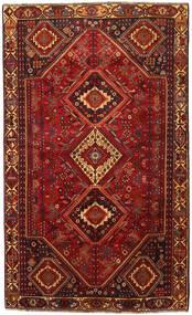 Shiraz Matta 180X300 Äkta Orientalisk Handknuten Mörkröd/Mörkbrun (Ull, Persien/Iran)