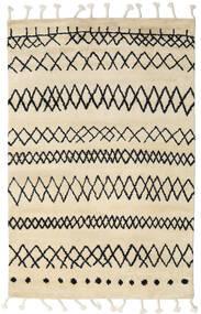 Beni Berber Matta 275X370 Äkta Modern Handknuten Beige/Mörkgrå Stor (Ull, Indien)