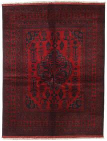 Afghan Khal Mohammadi Matta 151X196 Äkta Orientalisk Handknuten Mörkröd/Mörkbrun (Ull, Afghanistan)