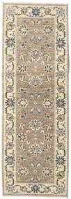 Ziegler Ariana Matta 63X183 Äkta Orientalisk Handknuten Hallmatta Beige/Ljusgrå (Ull, Afghanistan)
