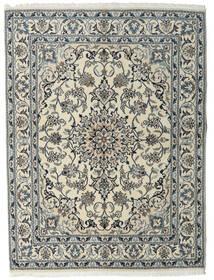 Nain Matta 160X215 Äkta Orientalisk Handknuten Ljusgrå/Mörkgrå (Ull, Persien/Iran)