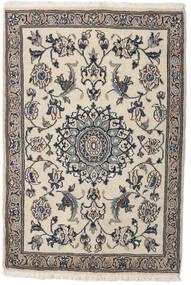 Nain Matta 91X134 Äkta Orientalisk Handknuten Ljusgrå/Beige (Ull, Persien/Iran)