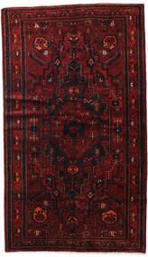 Hamadan Matta 143X248 Äkta Orientalisk Handknuten Mörkröd (Ull, Persien/Iran)
