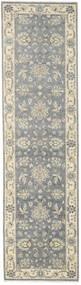 Ziegler Ariana Matta 81X294 Äkta Orientalisk Handknuten Hallmatta Mörkgrå/Ljusgrå/Mörkbeige (Ull, Afghanistan)