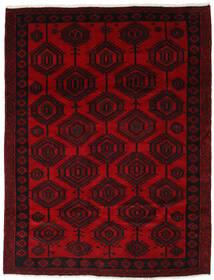 Lori Matta 205X265 Äkta Orientalisk Handknuten Mörkröd (Ull, Persien/Iran)