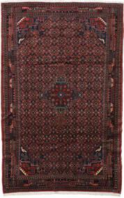 Koliai Matta 200X310 Äkta Orientalisk Handknuten Mörkröd/Svart (Ull, Persien/Iran)