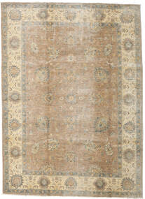 Ziegler Ariana Matta 204X281 Äkta Orientalisk Handknuten Ljusgrå/Ljusbrun (Ull, Afghanistan)