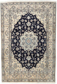 Nain Matta 202X297 Äkta Orientalisk Handknuten Ljusgrå/Beige (Ull, Persien/Iran)