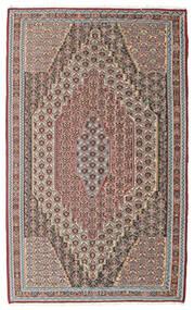 Kelim Senneh Matta 148X237 Äkta Orientalisk Handvävd Ljusgrå/Ljusbrun (Ull, Persien/Iran)