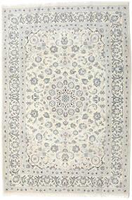 Nain Matta 198X292 Äkta Orientalisk Handknuten Ljusgrå/Beige/Mörkbeige (Ull, Persien/Iran)