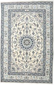 Nain Matta 195X299 Äkta Orientalisk Handknuten Beige/Ljusgrå (Ull, Persien/Iran)