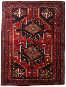 Lori Matta 168X224 Äkta Orientalisk Handknuten Mörkröd/Mörkbrun (Ull, Persien/Iran)