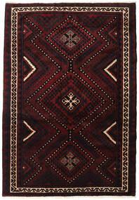 Lori Matta 167X246 Äkta Orientalisk Handknuten Mörkbrun/Mörkröd (Ull, Persien/Iran)