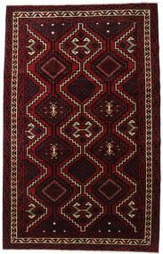 Lori Matta 179X281 Äkta Orientalisk Handknuten Mörkröd (Ull, Persien/Iran)